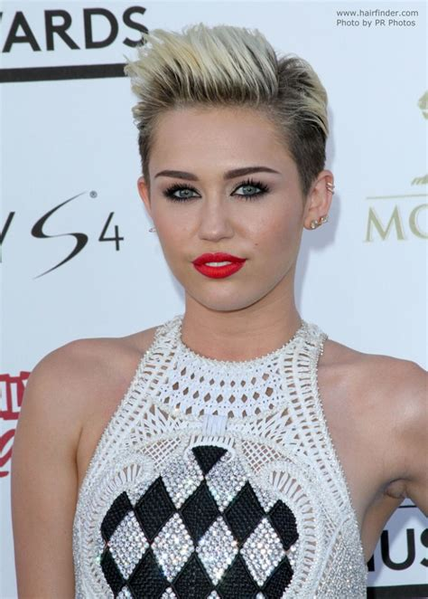 what kind of haircut does miley cyrus have miley cyrus extremely short hairstyle with the hair