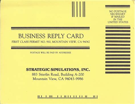 business reply mail card template postcard business reply card best business cards