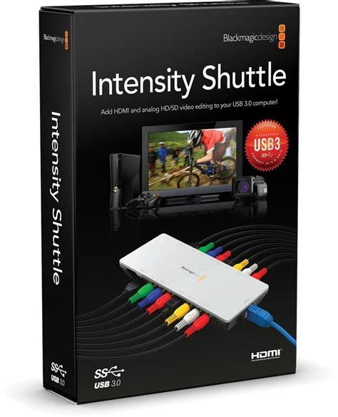 Blackmagic Design Intensity Shuttle For Usb 30 placa de captura blackmagic intensity shuttle usb 3 0 r 1 890 00 em mercado livre