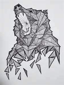 best 25 geometric bear ideas on pinterest
