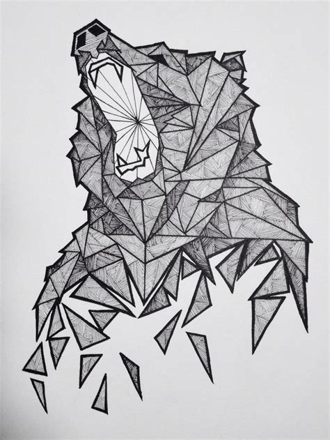 geometric tattoo artist kent how to care for a new color tattoo bear sketch