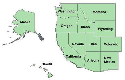 map of western usa states dui attorneys western united states duiattorneytab