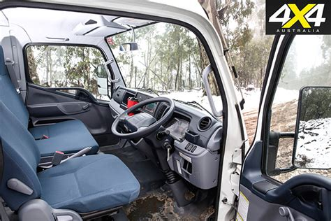 mitsubishi fuso interior fuso canter 4x4 review