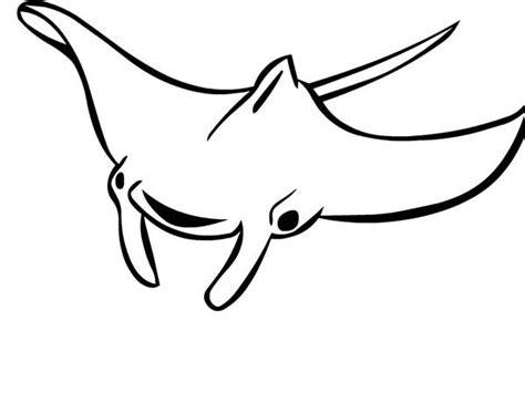 manta ray coloring download manta ray coloring