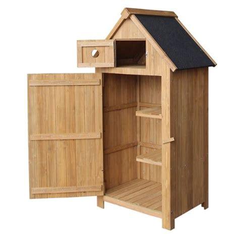 cabane de jardin 201 troite en bois de sapin avec toit tar