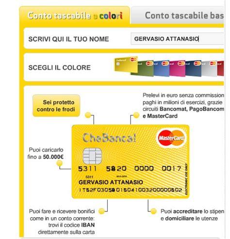 code banca sella conto carta quot carta corrente prepagata quot di banca sella