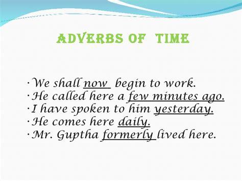 exle of adverb adverbs presentation