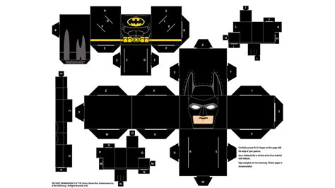Papercraft Batman - papercraft batman papercraft the lego 174 batman