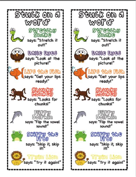 printable bookmarks with reading strategies 1000 images about reading on pinterest new year goals