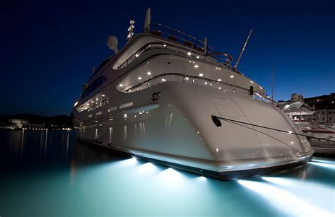 yacht underwater lights led underwater boat lights and dock lights single array