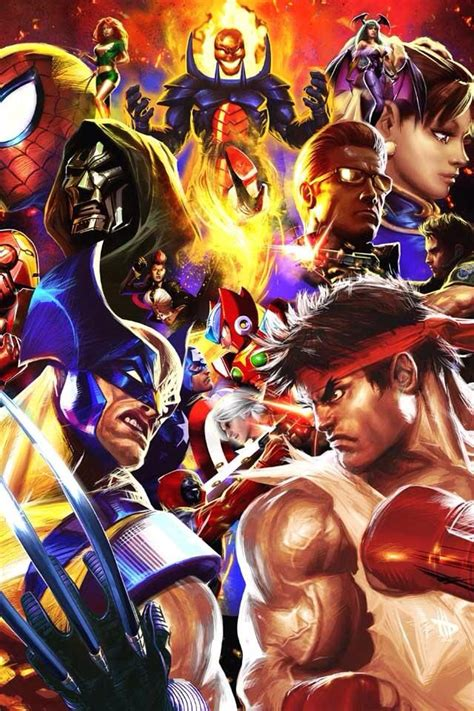 Kaos Ultimate Fighter Graphic 9 44 best marvel vs capcom images on marvel vs