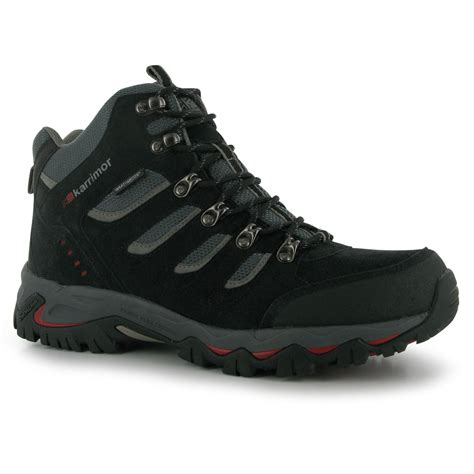 Karrimor Boots Black p 225 nske top 225 nky karrimor mount mid mens walking boots