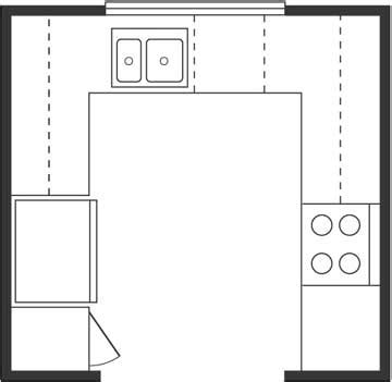 u shaped kitchen floor plans u shaped kitchen floor plan layout afreakatheart