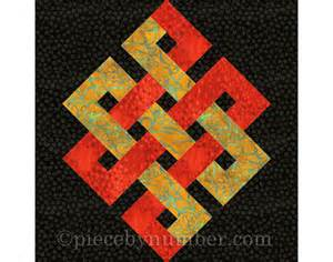 eternity knot quilt block paper piecing quilt patterns