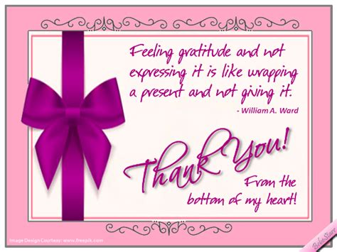 Thank You Card Inscriptions