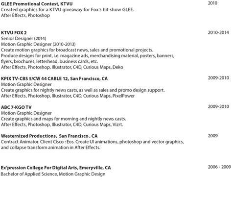 resume of graphic designer sle lara klinkhammer graphic designer resume
