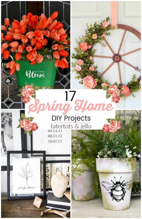 17 bright spring home decor crafts to refresh your home 17 beautiful spring home diy projects
