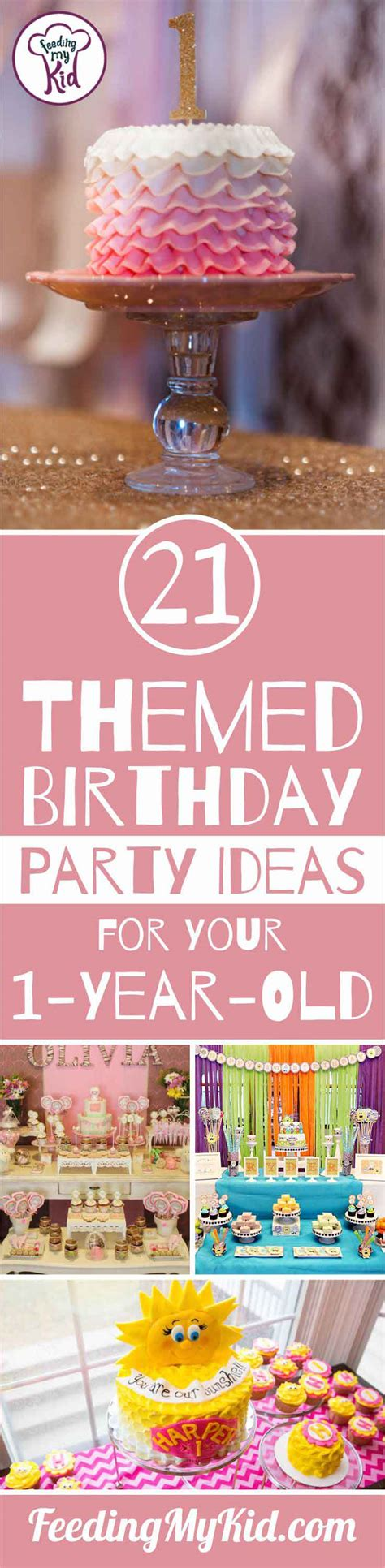 birthday themes with one birthday party themes for your one year old unforgettable
