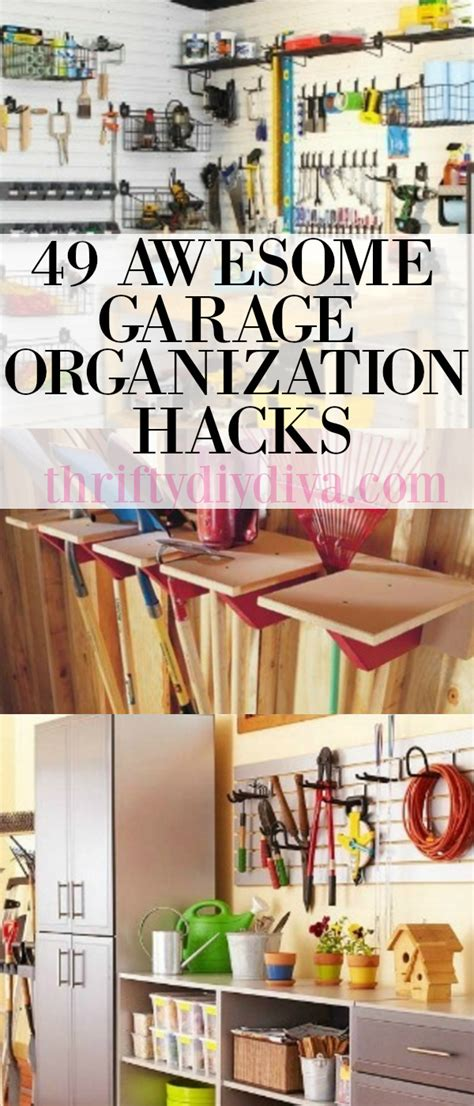 hack the 49 insider hacks to get hired and promoted in your without getting fired or laid books 49 awesome garage organization hacks