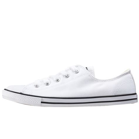 Converse Dainty Ox Weiß by Converse Dainty Ox Womens Trainers In White