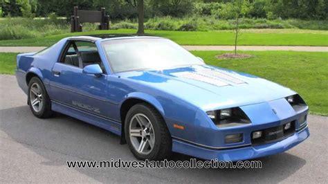 camaro 1985 z28 1985 chevrolet camaro z28 iroc z sold test