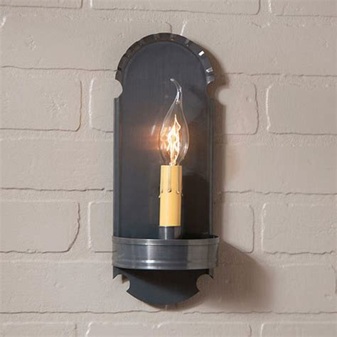 Electric Candle Wall Sconce by Country Tin Handcrafted Electric Wall Sconce Light