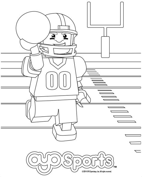 lego basketball coloring pages nfl birthday party bundle 4 pack