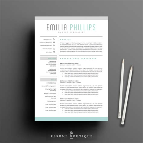 resume templates creative 50 creative resume templates you won t believe are