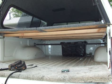 truck bed platform homemade cer shell designs google search car c