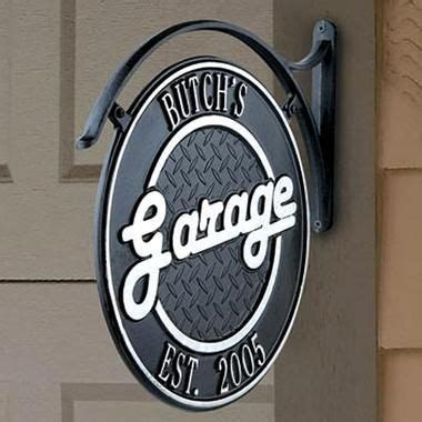 Personalized Garage Sign by Personalized Garage Sign 2 Way Gifts For The Hubbs