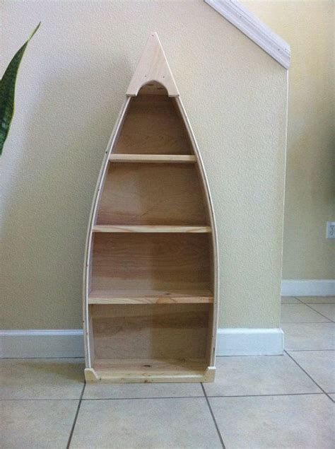 how to build a canoe bookshelf woodworking projects plans