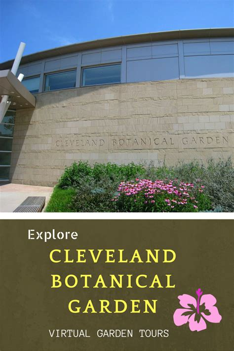 The Cleveland Botanical Garden A Delight For Your Senses Cleveland Botanical Gardens Parking