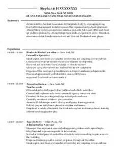 american resume sles sle resumes american style