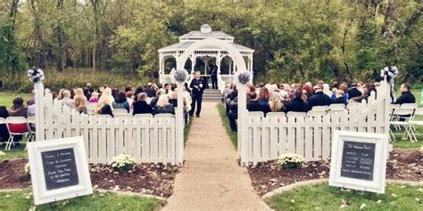outdoor wedding venues in iowa a touch of class weddings get prices for wedding venues
