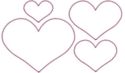 heart pattern for applique heart applique template car interior design