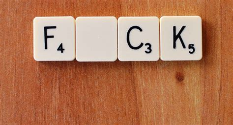 how to get better at scrabble swearing makes you feel better f word expert claims