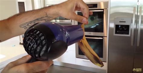 Hair Dryer On Banana banana hack can you revive banana using hair