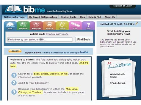 bid me february 2009 in the library page 2