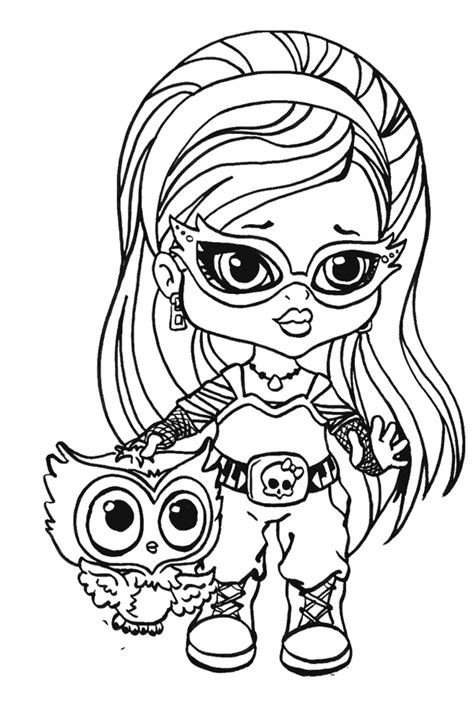monster high coloring pages printerkids monster high doll coloring pages az coloring pages