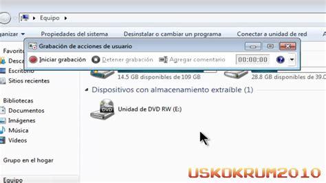 grabar escritorio windows 7 c 211 mo grabar lo que hago en mi pc con windows 7