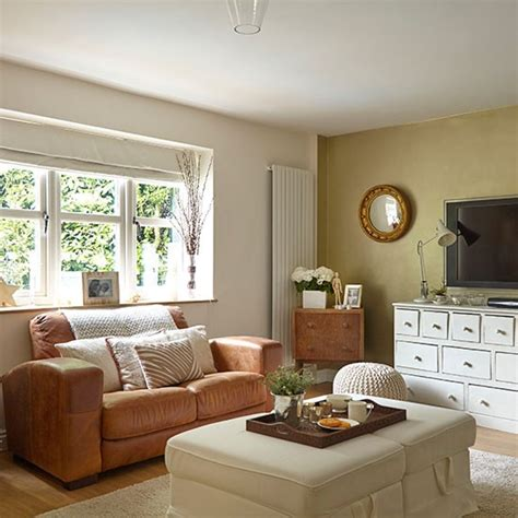 neutral sofa decorating ideas neutral living room with white and leather furniture