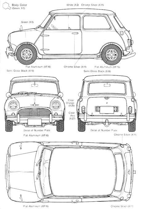 Mini Blue Print Tutorials3d Blueprints Mini Mini