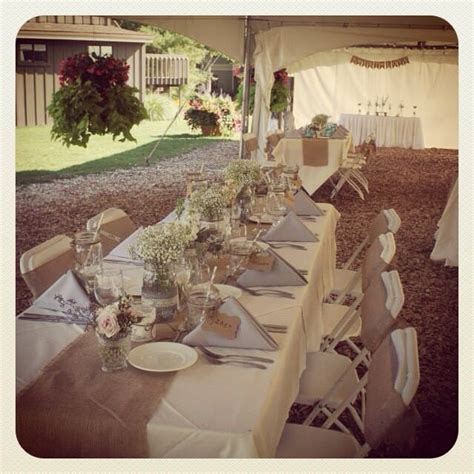country wedding reception table ideas photograph rustic co