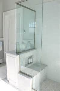 glass bathroom design blue glass tile shower cottage bathroom molly frey