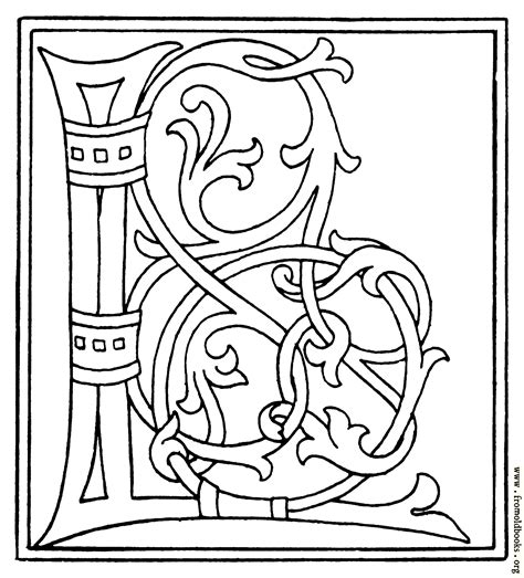Initial L clipart initial letter l from late 15th century printed