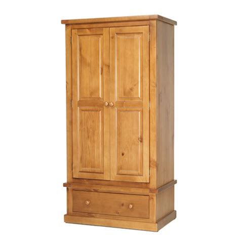 Chunky Wardrobes by Chunky Pine Gents Wardrobe Lifestyle Furniture Uk