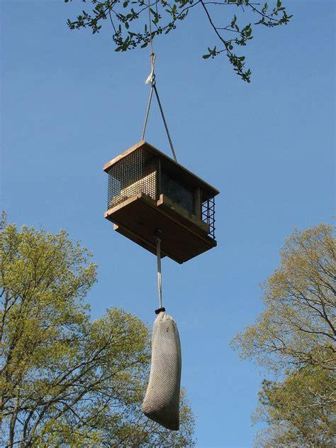 Tree Mounted Bird Feeder hanging bird feeders from trees birdcage design ideas