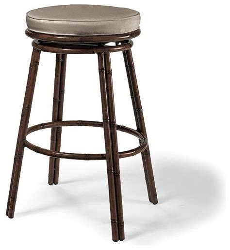 Tiki Stools by St Martin Tiki Outdoor Bar Stool Cushions Traditional