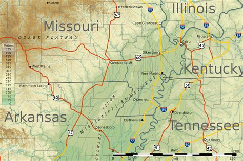 map missouri and kentucky mississippi river vi kentucky bend new madrid cairo ste