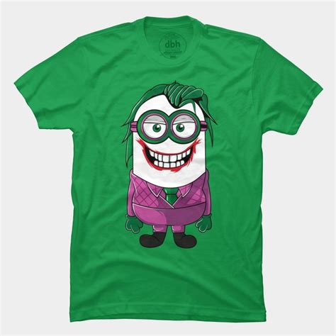 Joker And Harley Quinn Mini 2 T Shirt minion joker t shirt other styles and colors are available tops for and